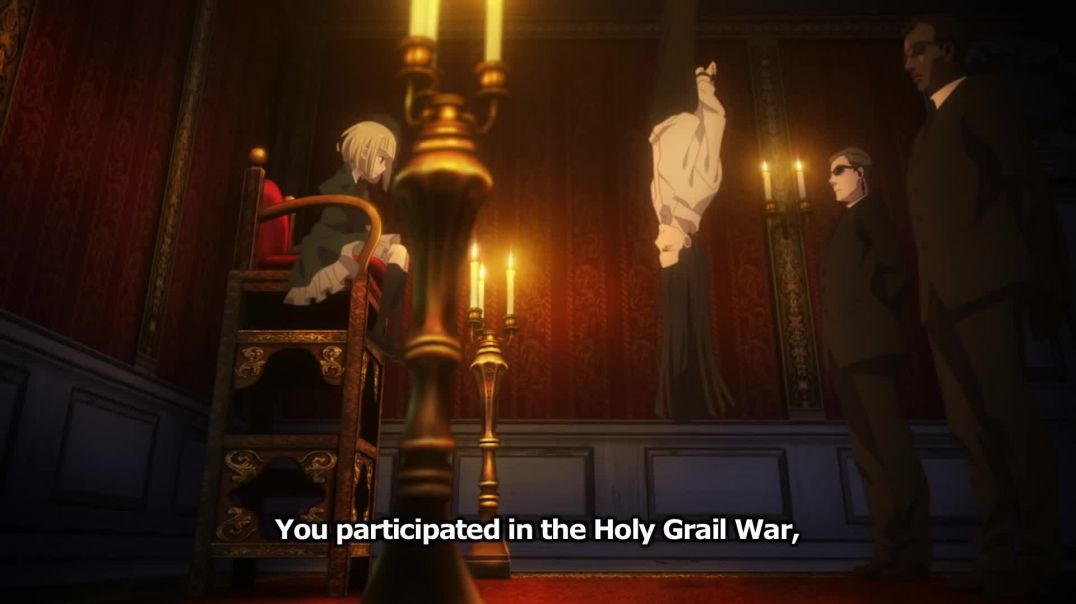 Lord El-Melloi II Sei no Jikenbo: Rail Zeppelin Grace Note Trailer 2 English Sub